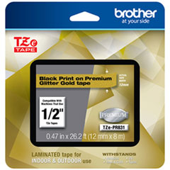 BRT TZEPR831 Brother TZe Premium Laminated Tape BRTTZEPR831