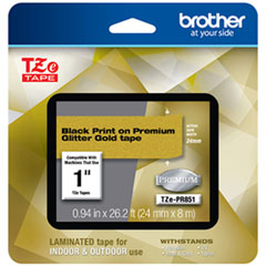 BRT TZEPR851 Brother TZe Premium Laminated Tape BRTTZEPR851