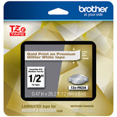 BRT TZEPR234 Brother TZe Premium Laminated Tape BRTTZEPR234