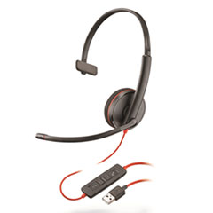 PLN C3210 Plantronics Blackwire 3200 Series Headset PLNC3210