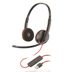 PLN C3220 Plantronics Blackwire 3200 Series Headset PLNC3220