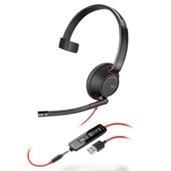 PLN C5210 Plantronics Blackwire 5200 Series Headset PLNC5210