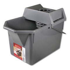 RCP G03406CT Rubbermaid Commercial Mop Bucket With Wringer RCPG03406CT