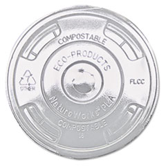 ECO EPFLCC Eco-Products Cold Drink Cup Lids ECOEPFLCC