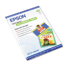 EPS S041106 Epson Photo-Quality Self Adhesive Paper EPSS041106