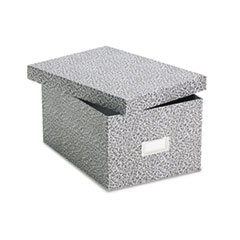 OXF 40590 Oxford Reinforced Board Card File with Lift-Off Cover OXF40590