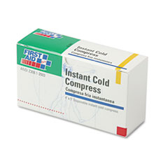 FAO B5035 First Aid Only Instant Cold Compress Refill for ANSI-Compliant First Aid Kit FAOB5035