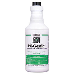 FKL F270012 Franklin Cleaning Technology Hi-Genic Bowl and Bathroom Cleaner FKLF270012
