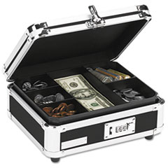 IDE VZ01002 Vaultz Locking Cash Box IDEVZ01002