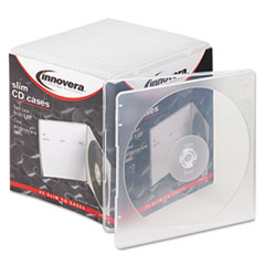 IVR 81900 Innovera Slim CD Case IVR81900