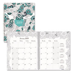 RED C292001 Blueline Doodleplan Monthly Planner REDC292001