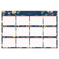 BLS 103632 Blue Sky Day Designer Laminated Wall Calendar BLS103632