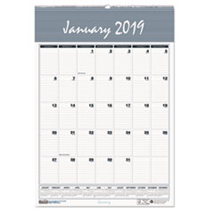 HOD 352 House of Doolittle Bar Harbor 100% Recycled Wirebound Monthly Wall Calendar HOD352