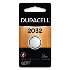 DUR DL2032BPK Duracell Lithium Coin Batteries DURDL2032BPK