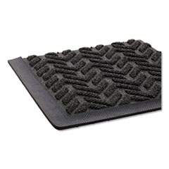 CWN FL2436BK Crown Ribbed Vinyl Anti-Fatigue Mat CWNFL2436BK