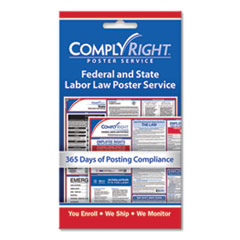 COS 098433 ComplyRight Labor Law Poster Service COS098433