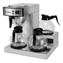 OGF CPRLG Coffee Pro Three-Burner Low Profile Institutional Coffee Maker OGFCPRLG