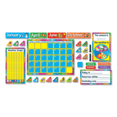 TEP T8096 TREND Year Around Calendar Bulletin Board Set TEPT8096