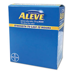 PFY BXAL50 Aleve Pain Reliever Tablets PFYBXAL50