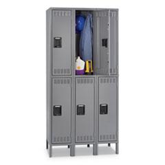TNN DTS1218363MG Tennsco Double Tier Locker TNNDTS1218363MG
