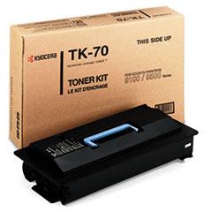 KYO TK70 Kyocera TK70 Toner Cartridge KYOTK70