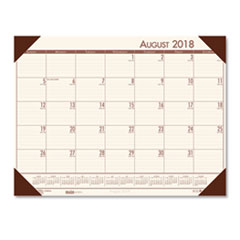 HOD 012541 House of Doolittle EcoTones 100% Recycled Academic Desk Pad Calendar HOD012541