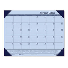 HOD 012573 House of Doolittle EcoTones 100% Recycled Academic Desk Pad Calendar HOD012573