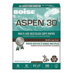 CAS 054901P Boise ASPEN 30 Multi-Use Recycled Paper CAS054901P
