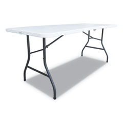 ALE FR72H Alera Fold-in-Half Resin Folding Table ALEFR72H