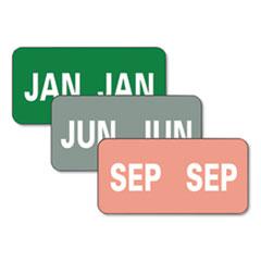 SMD 67450 Smead Monthly End Tab File Folder Labels SMD67450
