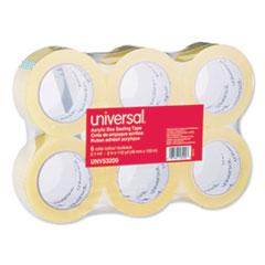 UNV 53200 Universal Deluxe General-Purpose Acrylic Box Sealing Tape UNV53200