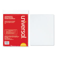 UNV 84620 Universal Laminating Pouches UNV84620