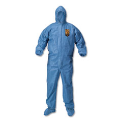 KCC 45093 KleenGuard A60 Bloodborne Pathogen & Chemical Splash Protection Coveralls KCC45093