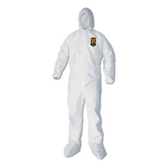 KCC 44337 KleenGuard A40 Zipper Front Liquid and Particle Protection Coveralls KCC44337