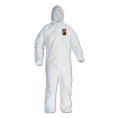 KCC 44327 KleenGuard A40 Zipper Front Liquid and Particle Protection Coveralls KCC44327