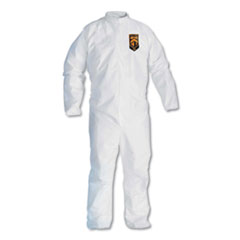 KCC 46007 KleenGuard A30 Breathable Splash & Particle Protection Coveralls KCC46007