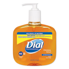 DIA 80790EA Dial Professional Gold Antimicrobial Liquid Hand Soap DIA80790EA
