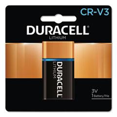 DUR DLCRV3B Duracell Specialty High-Power Lithium Batteries DURDLCRV3B