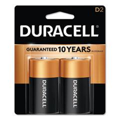 DUR MN1300B2Z Duracell CopperTop Alkaline Batteries DURMN1300B2Z