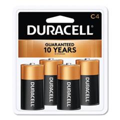 DUR MN1400R4ZX17 Duracell CopperTop Alkaline Batteries DURMN1400R4ZX17