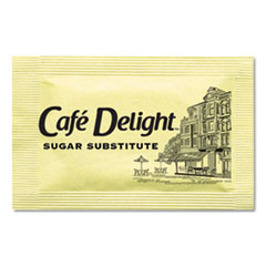 OFX 11101 Café Delight Yellow Sweetener Packets OFX11101