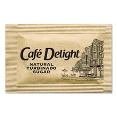 OFX 11276 Café Delight Raw Turbinado Sugar Packets OFX11276