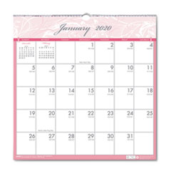 HOD 3671 House of Doolittle Breast Cancer Awareness 100% Recycled Monthly Wall Calendar HOD3671