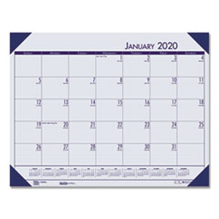 HOD 124640 House of Doolittle EcoTones 100% Recycled Monthly Desk Pad Calendar HOD124640