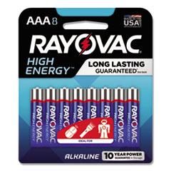 RAY 8248K Rayovac Alkaline Batteries RAY8248K