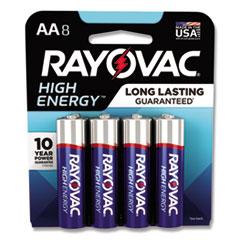 RAY 8158K Rayovac Alkaline Batteries RAY8158K
