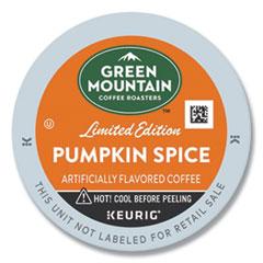 Fair Trade Certified Pumpkin Spice Flavored Coffee K-Cups, 96/Carton