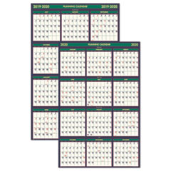 HOD 390 House of Doolittle Four Seasons Business and Academic Year 100% Recycled Wall Calendar HOD390