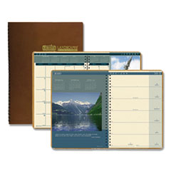 HOD 528 House of Doolittle Landscapes 100% Recycled Weekly/Monthly Planner HOD528
