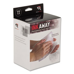 REA RR1302 Read Right InkAway Hand Cleaning Pads REARR1302
